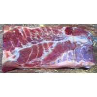 Traditional Dry Salted Cold Smoked Bacon 1kg
